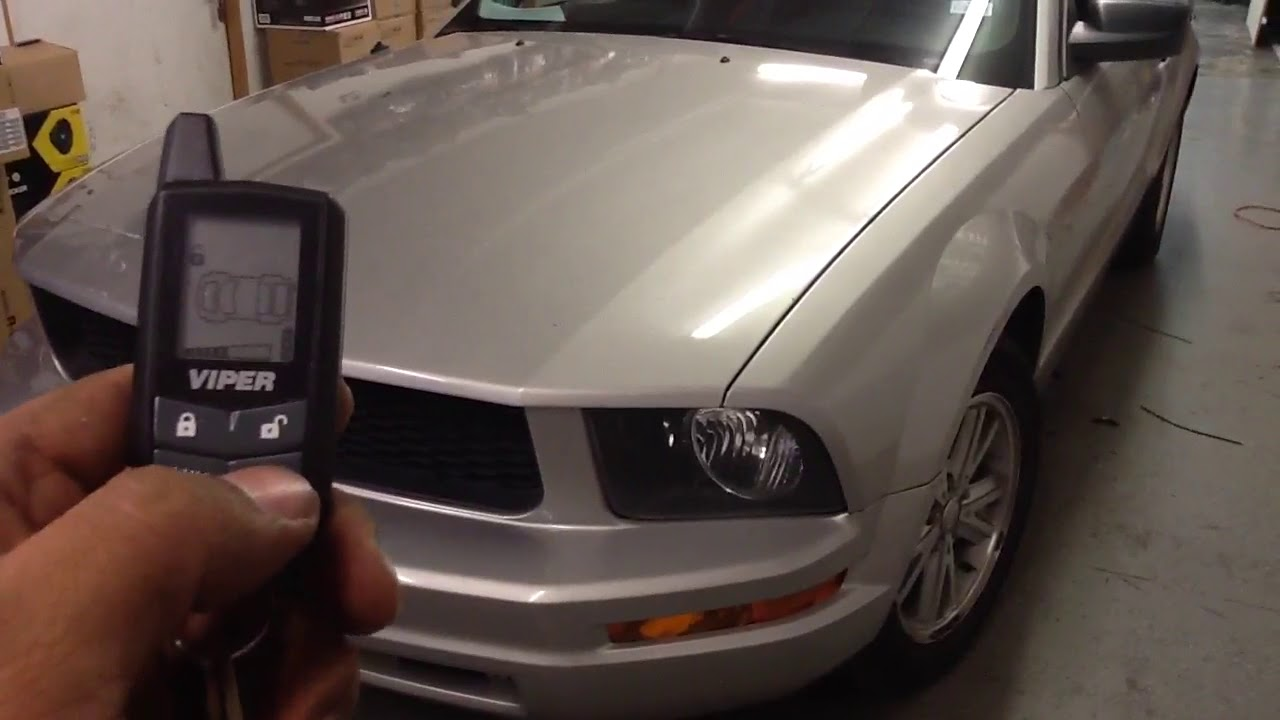 Viper 5305v Car Alarm Home Light Switch Wiring Diagram Remote Start 2007 Ford Mustang Youtube