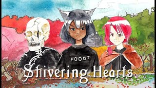 FEITO COM AQUARELA | Shivering Hearts (Gameplay em Português PT-BR) #shiveringhearts