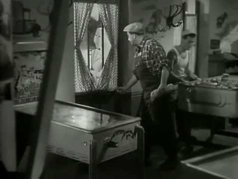 Pinball in the movies : G-a-s-o-i-l (1955)