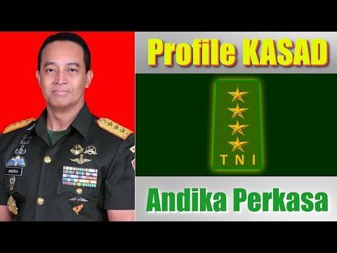 Profile KASAD Jenderal TNI Andika Perkasa Karir Melesat Setahun 3 Kali naik Jabatan