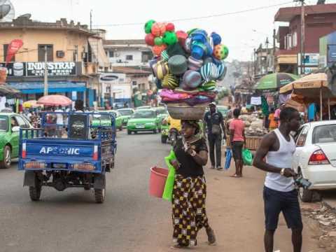 Daloa    Côte d'Ivoire   trading city for cocoa, Sassandra-Marahoué ,  Cathédrale du Christ-Roi
