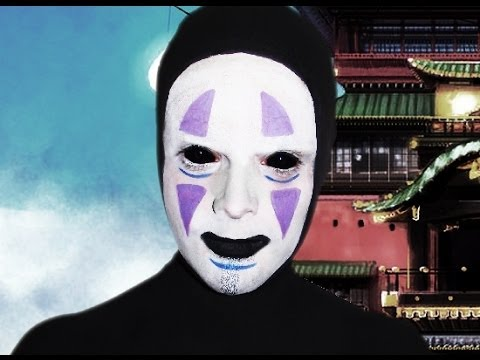 No Face - Spirited Away - Studio Ghbili - Makeup Tutorial! - YouTube