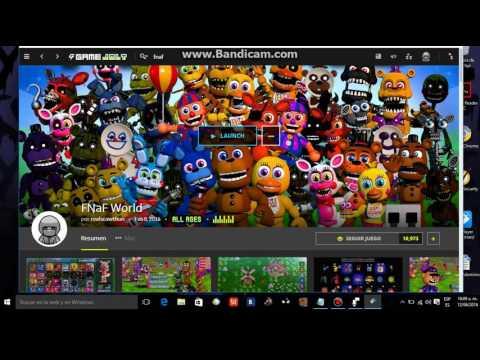 como descargar fnaf world con game jolt client para windows 10