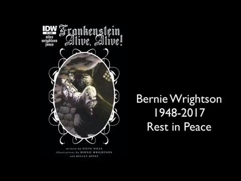 Frankenstein It's Alive : Legendary Comic Book Artist Bernie Wrightson's Final Story
