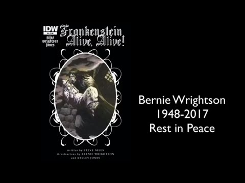 Frankenstein It's Alive : Legendary Comic Book Artist Bernie Wrightson's Final Story