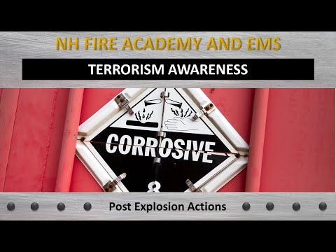 Terrorism Awareness- Post Explosion Actions