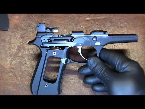 Beretta 92FS Trigger Pull Weight Reduction