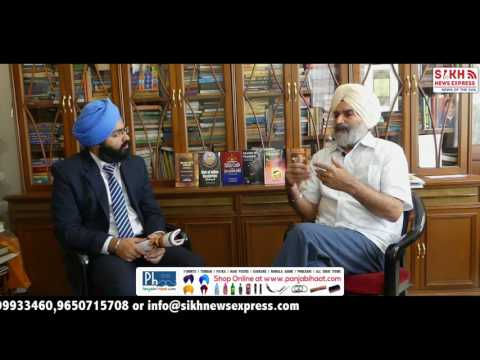 Retd IAS Gurtej singh On Khalistan politics & Simranjit Singh mann  | Part 2 | SNE