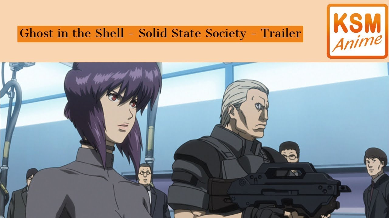 Ghost In The Shell Solid State Society Trailer Deutsch Youtube