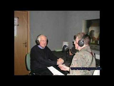Karl von Wogau MdEP in Prizren, Kosovo: Interview KFOR Radio