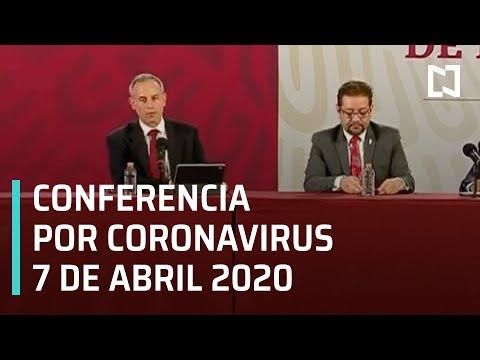 Conferencia Por Coronavirus En México - 7 De Abril 2020