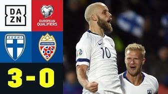 Historisch! Pukki schießt Finnland erstmals zur EM: Finnland - Liechtenstein 3:0 | EM-Quali | DAZN