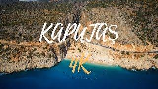 Kaputaş - Kalkan drone footage [TURKEY] in 4K - 2017