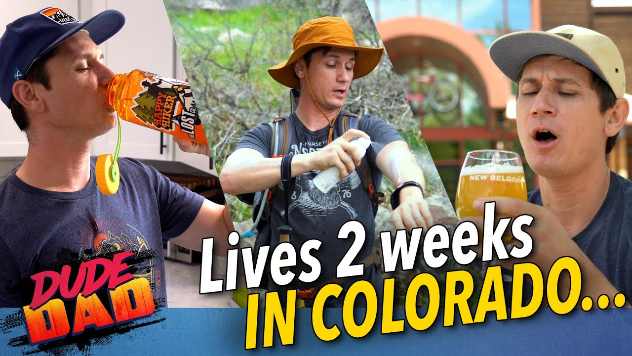 Lives 2 weeks in Colorado...