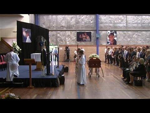 Thousands Gather for Phillip Hughes Funeral