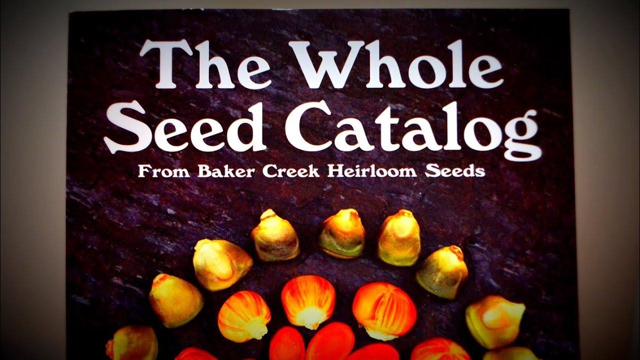 baker creek catalog