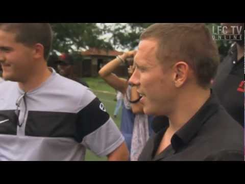 Craig Bellamy in Sierra Leone