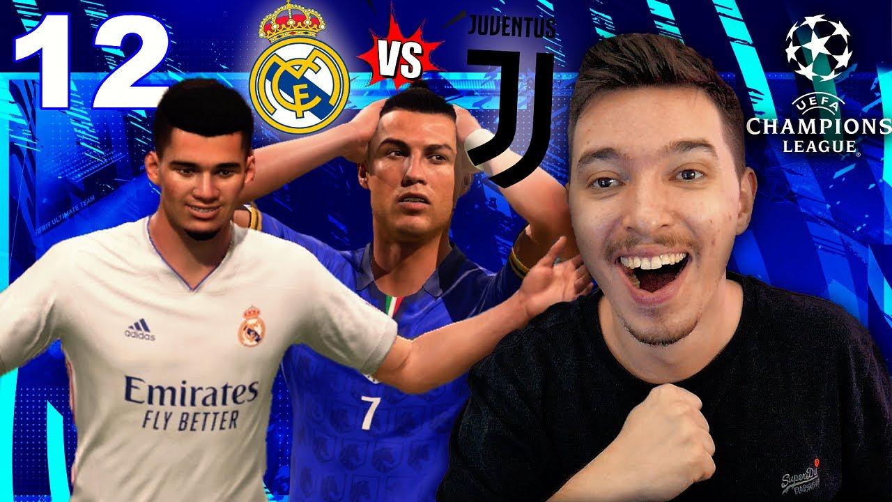 Download RONALDO VS HAGI PE BERNABEU IN UCL! REAL MADRID VS JUVENTUS !!! / FIFA 21 ROMANIA