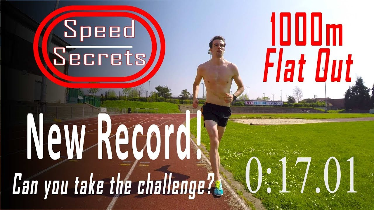 revendeur 2fce4 492f2 Sub 3 minute 1k! Top athlete shows how to run 1km time trial... FAST! Are  you up to the challenge???