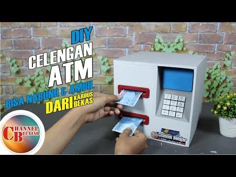 Membuat Celengan ATM Bisa Nabung Bisa Ngambil