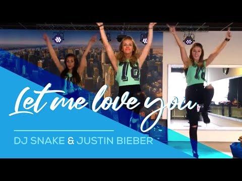 Let me love you - DJ-Snake & Justin Bieber (Remix Slander&B-Sides) Easy Fitness Dance Choreography