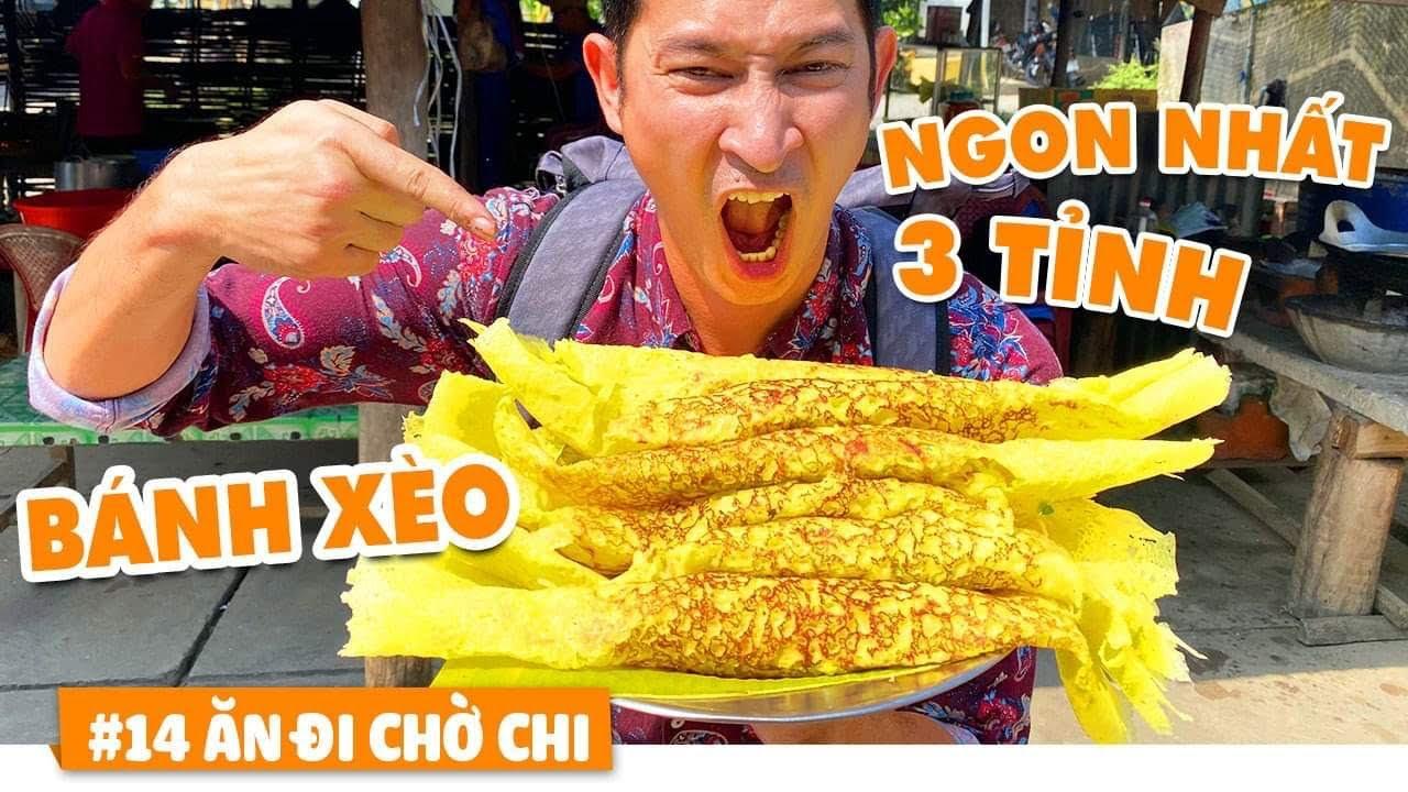 Bánh Xèo Ngon ở Giao Điểm Long An – Tiền Giang – Đồng Tháp – ĂN ĐI CHỜ CHỊ #14  | Huy Khánh Vê Lốc