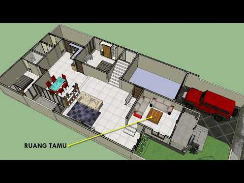 MINIMALIST HOUSE 1 FLOOR / 1.5 FLOOR LAND ROOM 8.5 X 15
