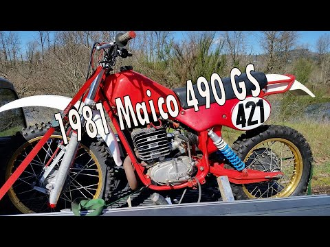 New Dirt Bike - 1981 Maico 490 GS Enduro