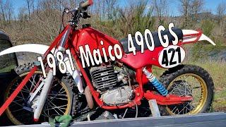 New Dirt Bike - 1981 Maico 490 GS Enduro