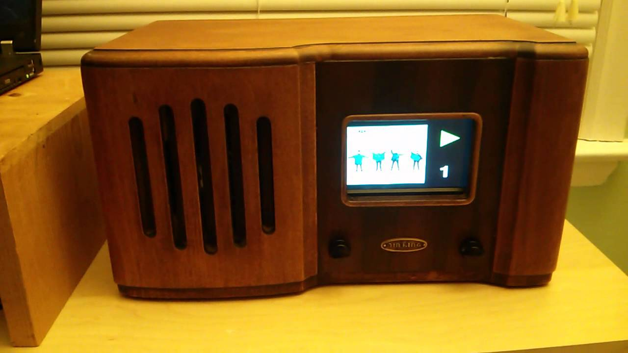 Raspberry Pi Jukebox Finished - YouTube