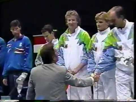 1988 Olympics, Men's Fencing, Team Epee