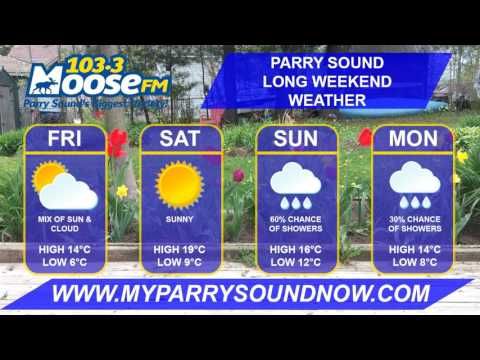 Victoria Day Long Weekend Weather - Parry Sound