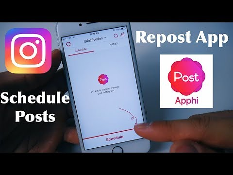 Best Instagram Repost App | Schedule & Auto Post Photo, Video, Story With Apphi!