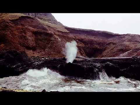 Spouting Horn at high tide (Cape Perpetua, Oregon coast, USA)