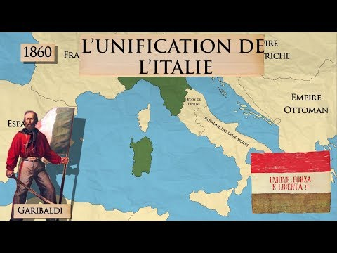 L'unification de l'Italie (1815-1870)