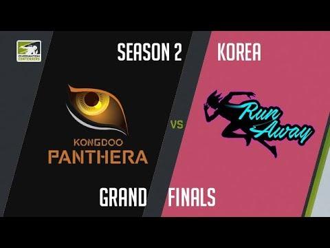 Team KongDoo Panthera vs RunAway (Part 1)   OWC 2018 Season 2: Korea [Grand Finals]
