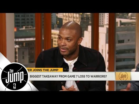 PJ Tucker talks Game 7 vs. Warriors, Carmelo Anthony, LeBron/KD/Kawhi and more | The Jump | ESPN