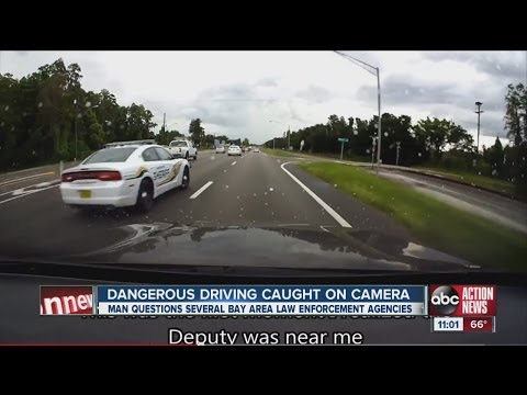 Dash cam video alleges police misconduct