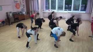 04.06.14. Tver Youth Ballet Академия СК Балета урок джаз-модерна фрагмент