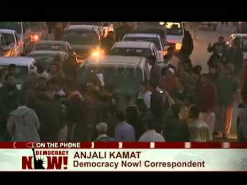 Anjali Kamat: Hopes of Peaceful Revolution in Libya End as Opposition Prepares for Long Battle