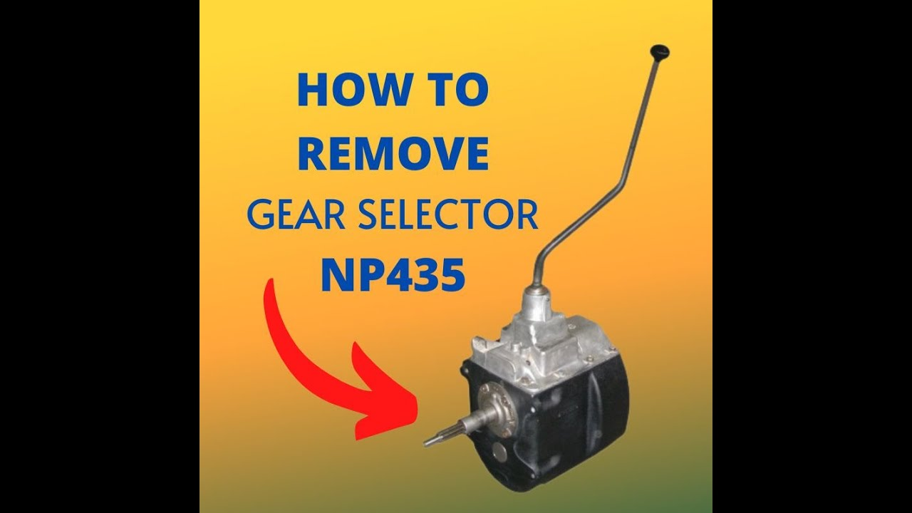 medium resolution of np435 gear shifter removal youtube powerglide shifter np435 shifter diagram