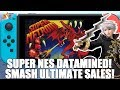 Nintendo Direct to Reveal Datamined SNES Games on Switch? & Smash Ultimate tops Smash 3DS in Japan!