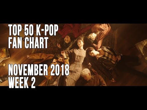 Top 50 KPop Songs Chart  November 2018 Week 2 Fan Chart