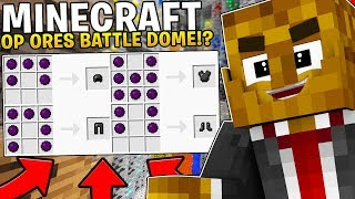 THIS IS THE MOST OVERPOWERED BATTLE DOME YOU HAVE EVER SEEN - Minecraft Overpowered Battle dome