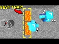 THIS MINECRAFT TRAP IS SO OVERPOWERED!! (Minecraft Trolling)