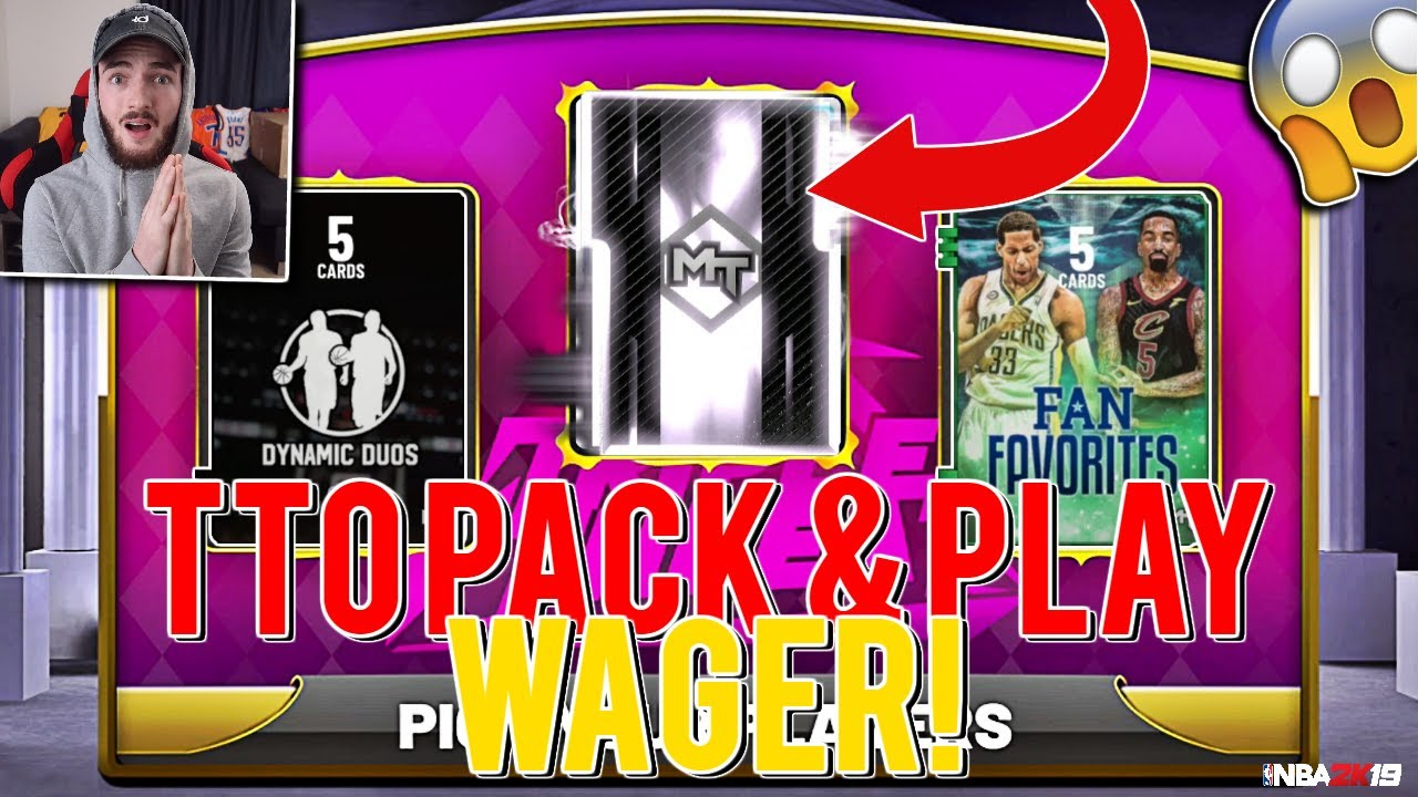 TRIPLE THREAT PACK & PLAY WAGER! MINI DRAFT TTO SQUAD! 2