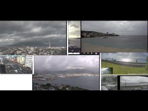 """Ураган - Тайфун """"Талим""""  Япония Typhoon Talim moves to Japan"""