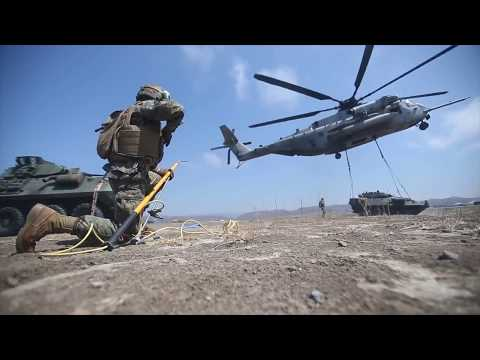 1st Marine Logistics Group - External Lift Operations - Camp Pendleton (Aug. 22, 2017)