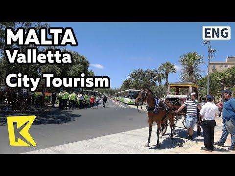 【K】Malta Travel-Valletta[몰타 여행-발레타]3가지 관광 방법/Unesco/Tourism/Bus/Carriage/Walk