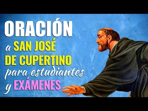 🙏 Oración a San José de Cupertino - ESTUDIANTES Y EXAMENES 👨💼👩💼